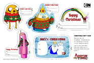Adventure-time-christmas-labels