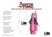 Princess-bubblegum-adventure-time-christmas-decoration