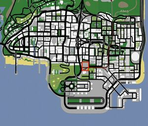 Unity Station GTA San Andreas (carte)
