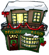 Night Club building Christmas Party 2007