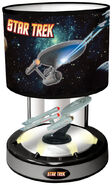 Hammacher Schlemmer Animated Musical Starship Enterprise Lamp