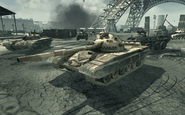 T-72 in Paris MW3