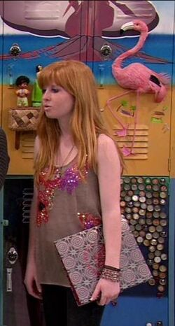 Mysterious Cute Redhead on Victorious