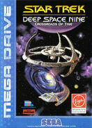 Star Trek DS9 Crossroads of Time Mega Drive Cover