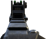 Vector K10 iron sights BOII