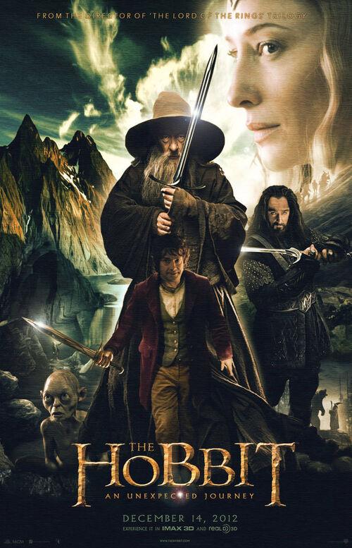 El Hobbit: un viaje inesperado [Audio Castellano] [Fantasy] [HD - 720] [2012]