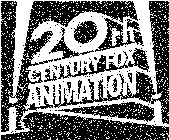 20th Century Fox Animation Print Logo