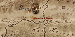 Wayshrine of Akatosh Maplocation