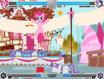 Pinkie Pie vs Twilight Sugarcube Corner Fighting is Magic