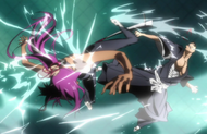 Yoruichi Vs Reigai