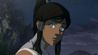 Scared Korra