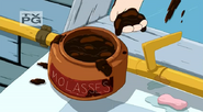 S5 e7 Molasses that Finn puts in his hair