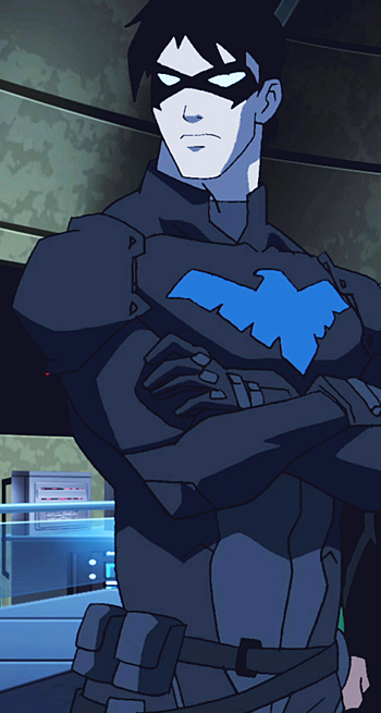 Nightwing young justice fanon wiki - Pictures of nightwing from young justice ...