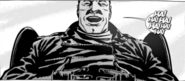 Issue 106 Negan Laugh