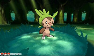 Sexta generación Pokémon X e Y Chespin_en_combate