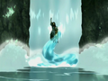Katara creates a waterspout.png