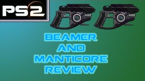 Planetside 2 - Beamer and Manticore Gun Comparison Review