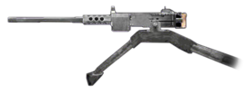 50cal M2 Browning Machine Gun Finest Hour Side