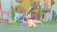 Rainbow Dash wants a race S1E22