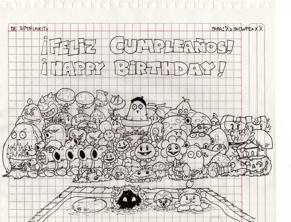 Happy birthday xxsnowpeaxx by superlakitu d5krypm