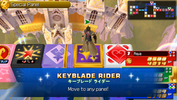 Command Board Keyblade Rider KHBBS