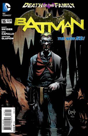 Cubierta para el Batman # 16