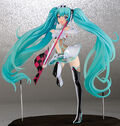 Racing miku 2012 figurine by FREEing