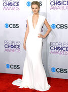 People Choice Awards white dress