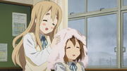 Mugi and yui towel