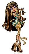Profile art - Cleo de Nile hair