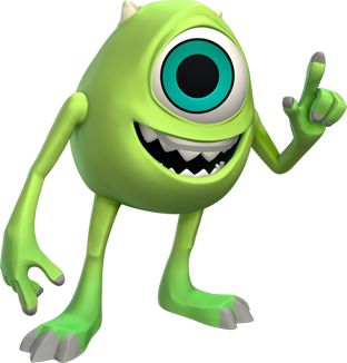 What characters in Monsters Inc. have cameos in Monsters ...  |Monster University Character Mike