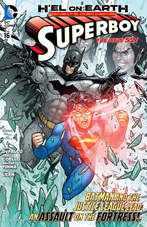 Cover for Superboy #16