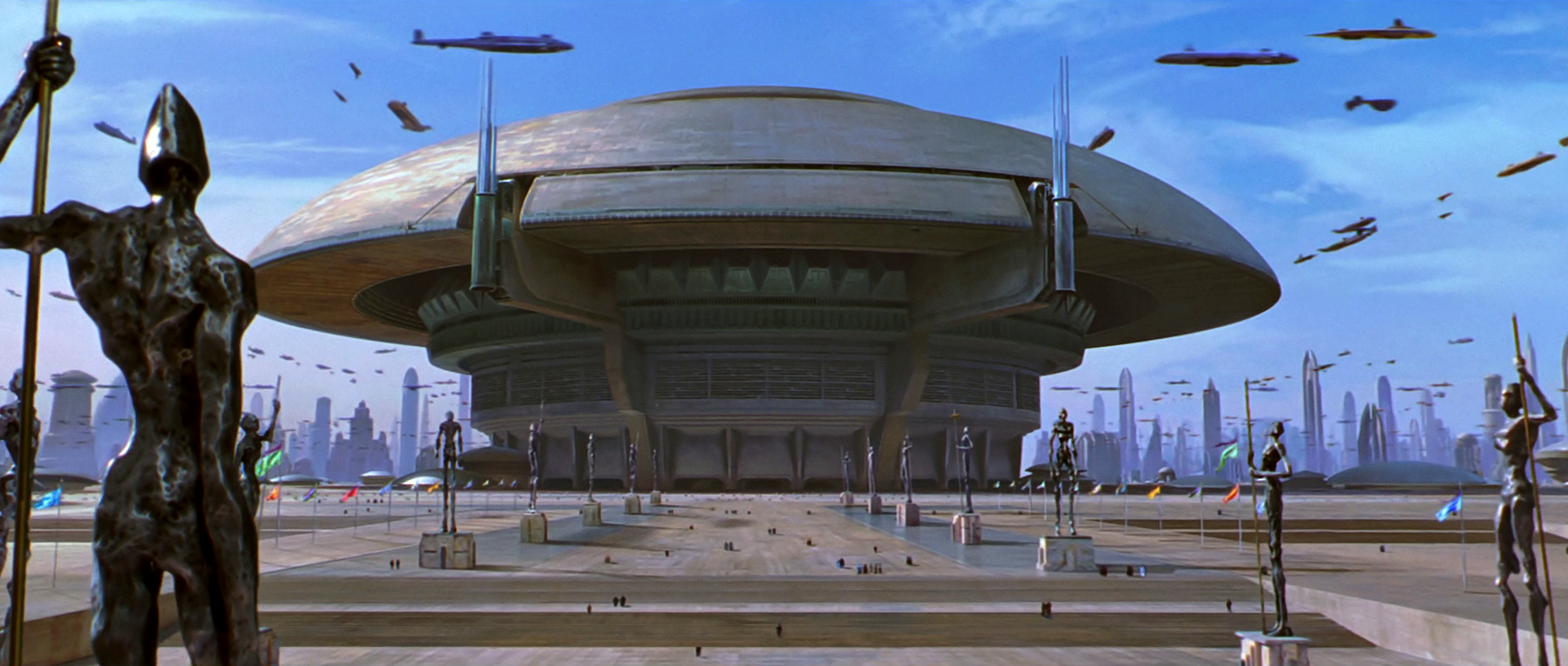 Moc Architecture Style Coruscant Senate Building Lego