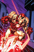 Thunderbolts Vol 2 8 Many Armors of Iron Man Variant Textless