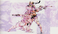 Metal Gear Solid 1 The Twin Snakes Solid Snake and Meryl Silverburgh 2
