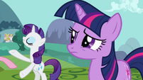 Rarity they'll be along S3E10