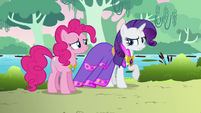 Rarity glad she didn't wear her fanciest outfit S03E10