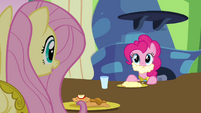 Fluttershy and Pinkie &quot;care for some gravy?&quot; S03E10