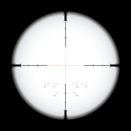 Variable Zoom Scope Reticle BOII