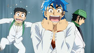 Toriko pretending to be afraid Eps 88