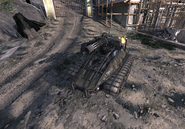 Destroyed UGV MW3