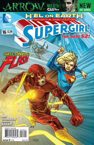 Cover for Supergirl #16
