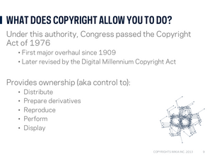 Copyright webinar Slide10