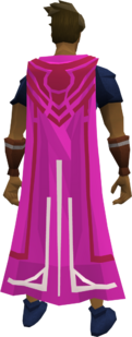 Milestone cape (70) equipped