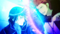 Mikoto Suoh vs Reisi Munakata