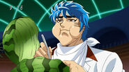 Toriko eating Watermelon Clam