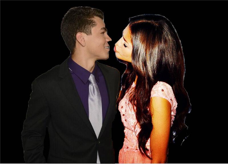 zendaya boyfriend kissing