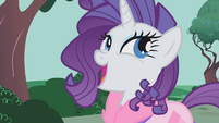 "Rarity ""you ponies did an amazing job"" S01E14"