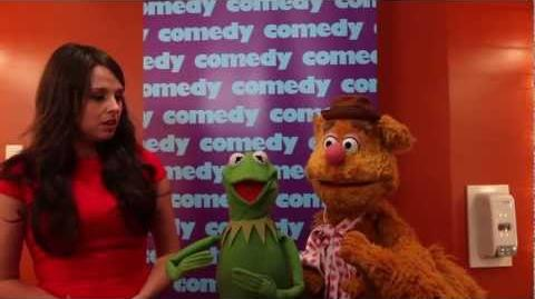 Kermit the Frog and Fozzie Bear Canadian Muppets