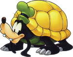 Goofy (Tortoise Form) (Art)